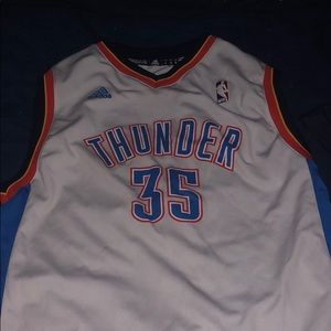 kids thunder kevin durant jersey